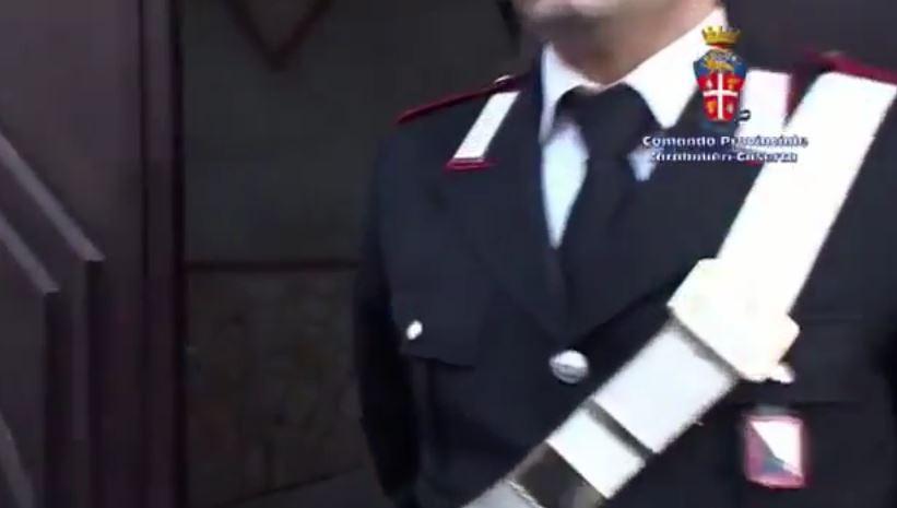 arma carabinieri contro clan schiavone casalesi