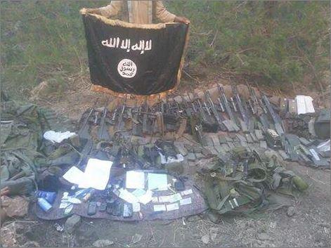 armi dell'Isis