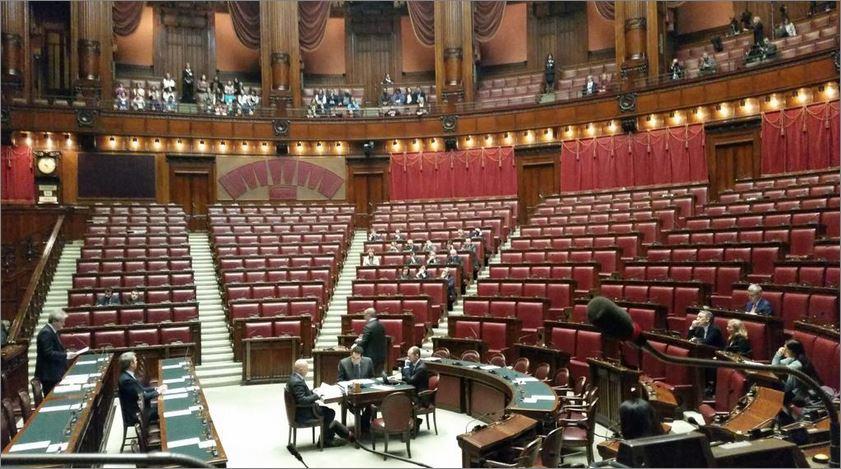 Aula di Montecitorio deserta per il nostro connazionale Giovanni Lo Porto