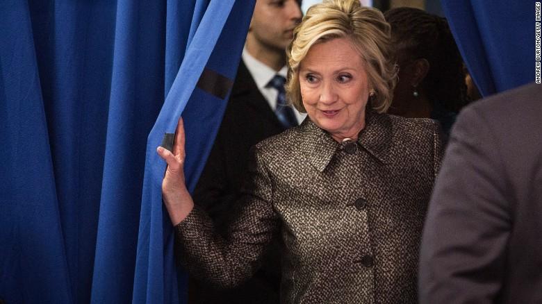 I'm running said Hillary Clinton Usa 2016