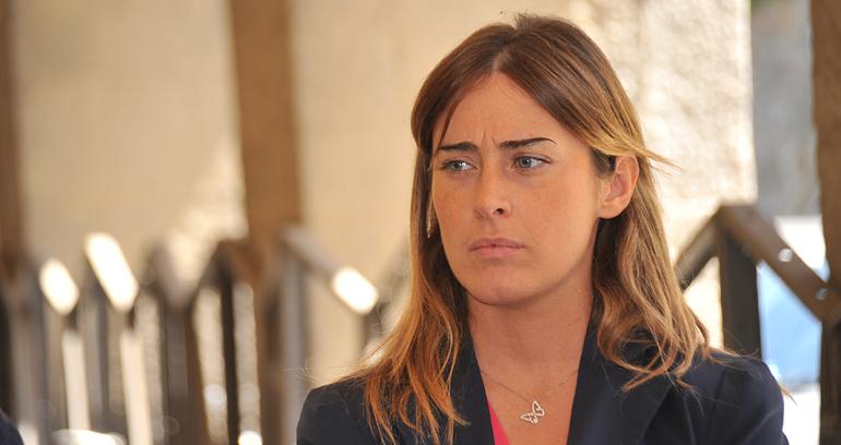 Il ministro Maria Elena Boschi - Italicum