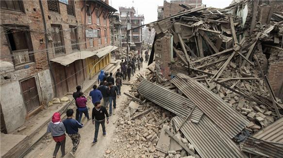 Palazzi crollati in Nepal