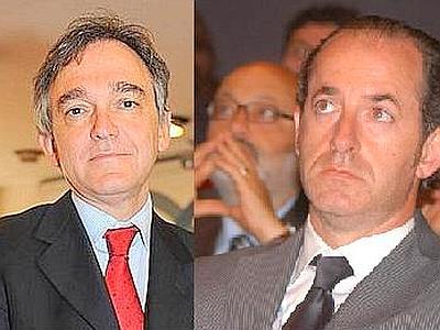 I governatori Enrico Rossi  e Luca Zaia