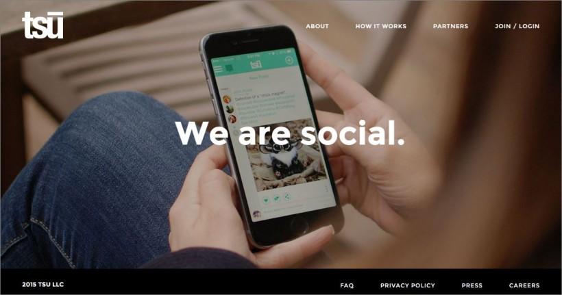 tsu we are social - come guadagnare postando contenuti