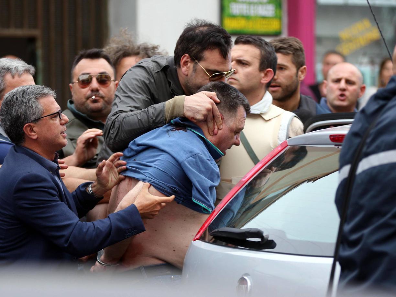 L'arresto di Giulio Murolo a Napoli