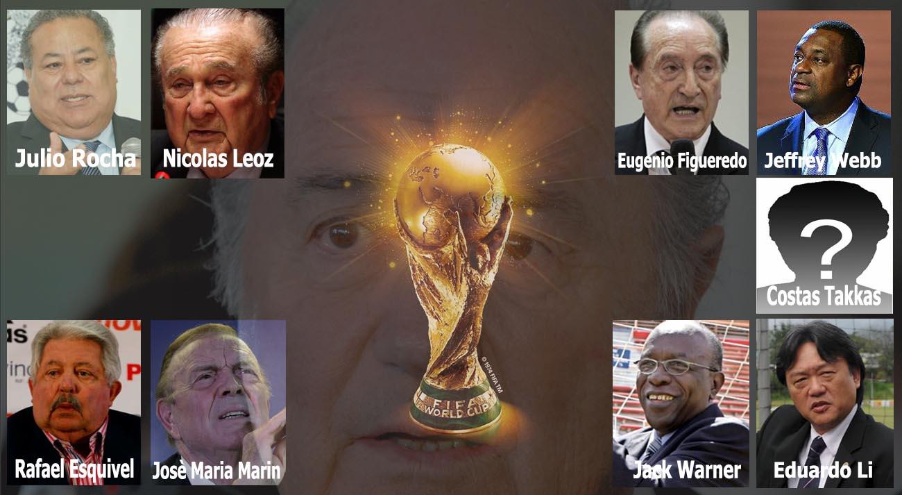 Blitz contro la FIFA gli arrestati