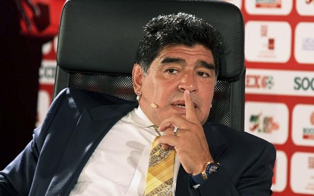"""Diego Armando Maradona accusa Blatter: """"Corrotto simile a un mafioso"""""""