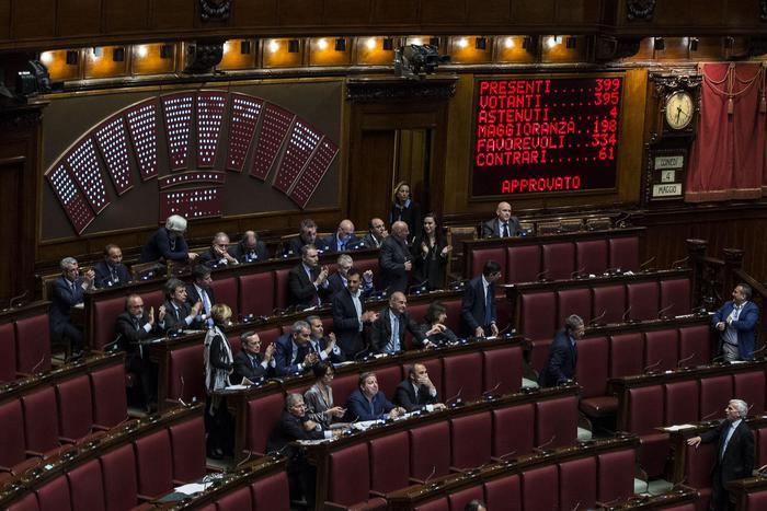 Il voto finale sulla riforma elettorale Italicum
