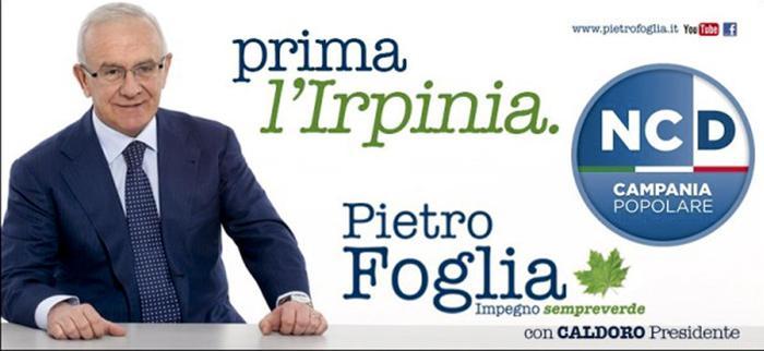 Il presidente uscente del Consiglio regionale della Campania Pietro Foglia (Facebook)