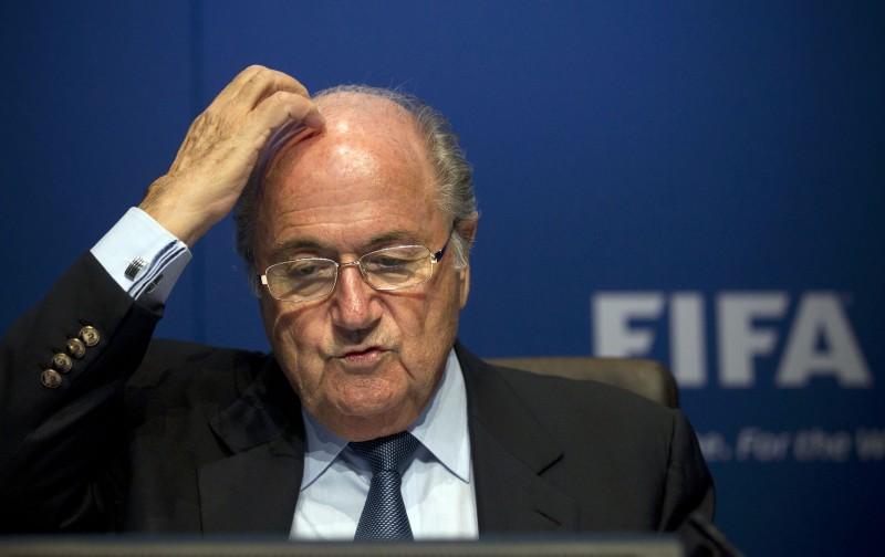 "Joseph ""Sepp"" Blatter in una foto del 2012"