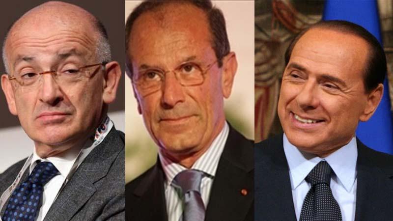 Sisto, Schittuli e Berlusconi