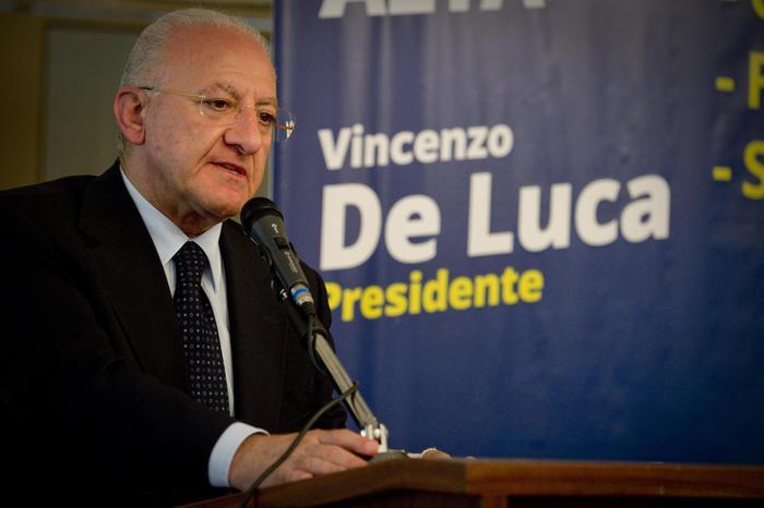 Vincenzo De Luca (Ansa/Fusco)