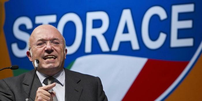 Francesco Storace, condannato a 6 mesi di carcere per vilipendio a Napolitano
