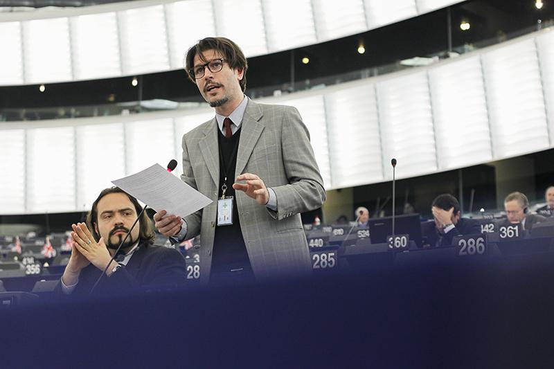 Ignazio Corrao, eurodeputato del M5S