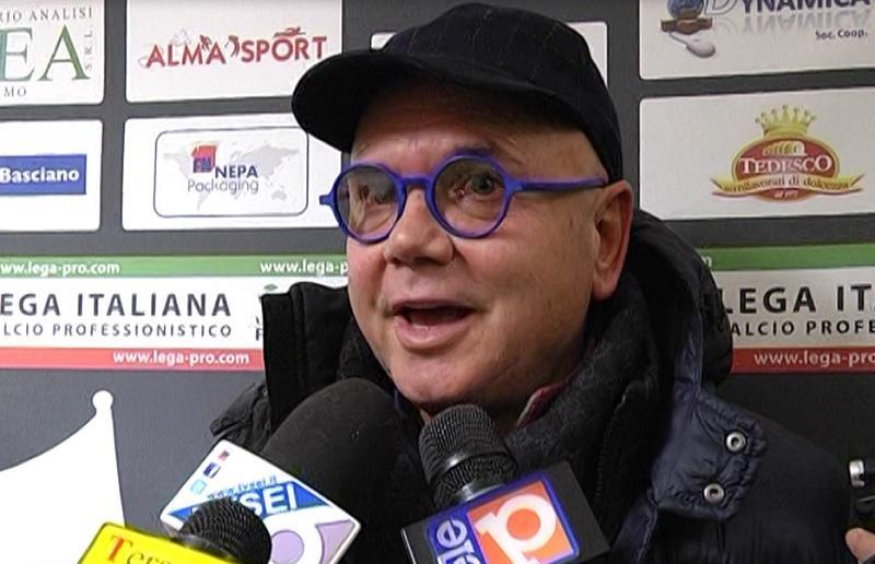 Il presidente del Teramo Luciano Campitelli