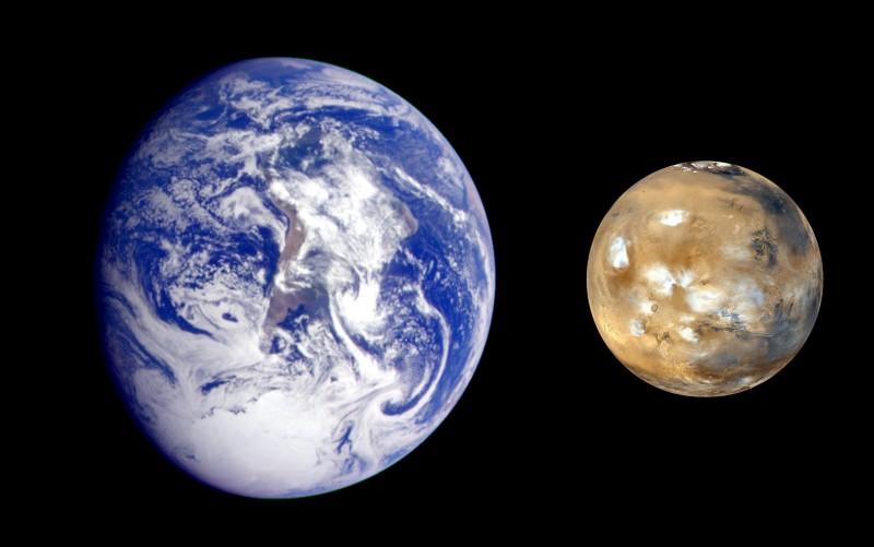 Il Pianeta Terra e Marte