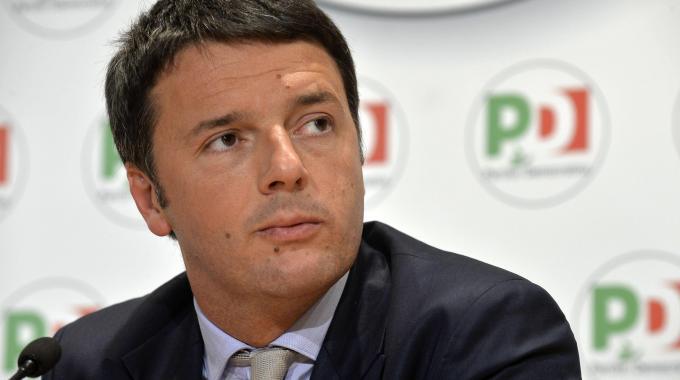 Il premier Matteo Renzi - Su immigrazione Ue ci ascolti e cambi Dublino II