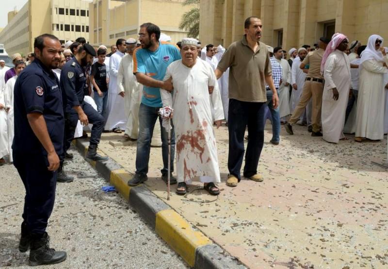 attacco alla Mosche a Kuwait city