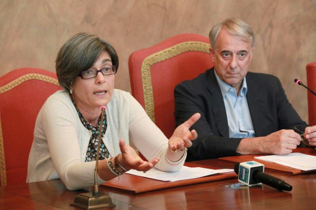 Ada Lucia De Cesaris con il sindaco di Milano Giuliano Pisapia