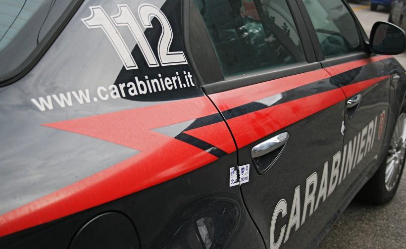 Carabinieri sono accorsi subito dopo la tragedia di Catanzaro dove Andrea Zingone ha ucciso la madre e si lanciato dal 5° piano