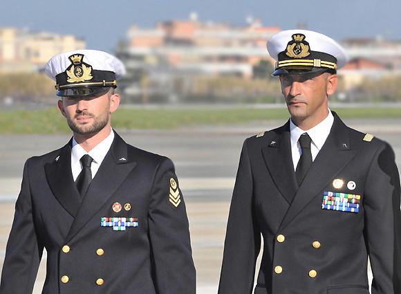 I marò Massimiliano Girone e Salvatore Latorre