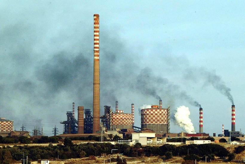 Lo stabilimento siderurgico Ilva di Taranto  (Ansa/Ingenito)