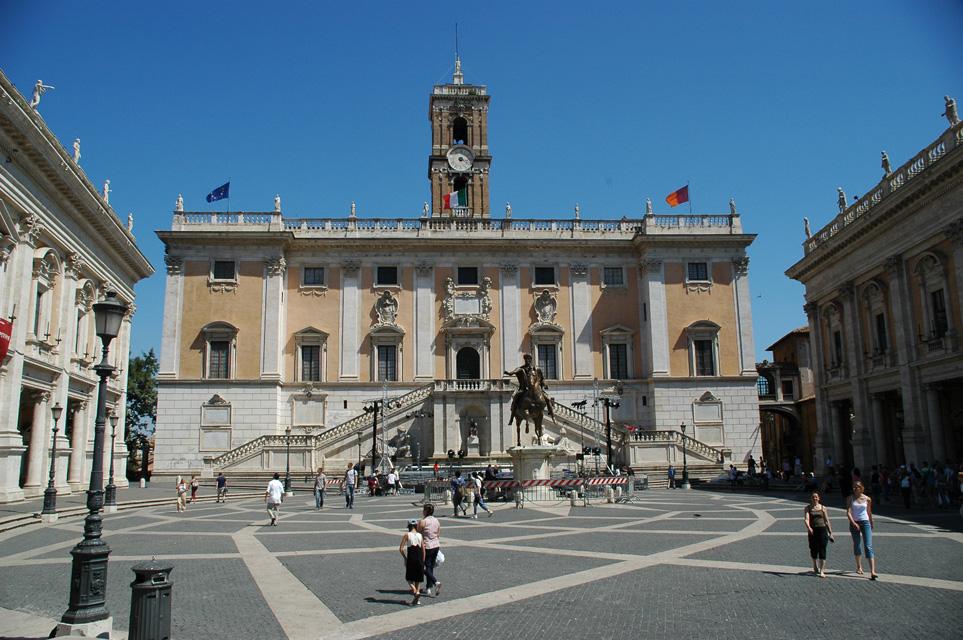 Il Campidoglio, sede dell'assemblea di Roma Capitale