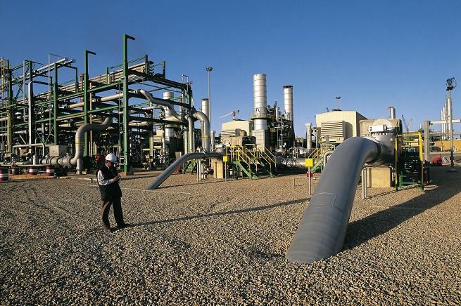 Impianto energetico a Mellitah, Libia