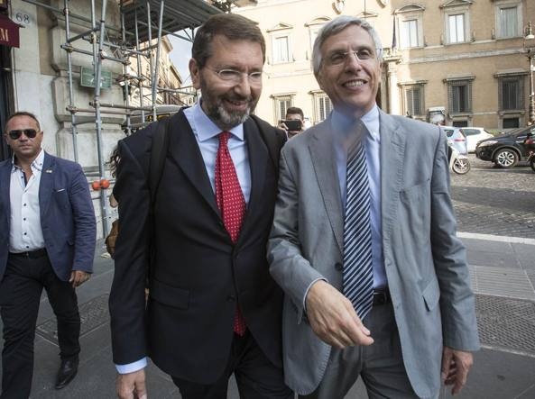 Luigi Nieri con Ignazio Marino