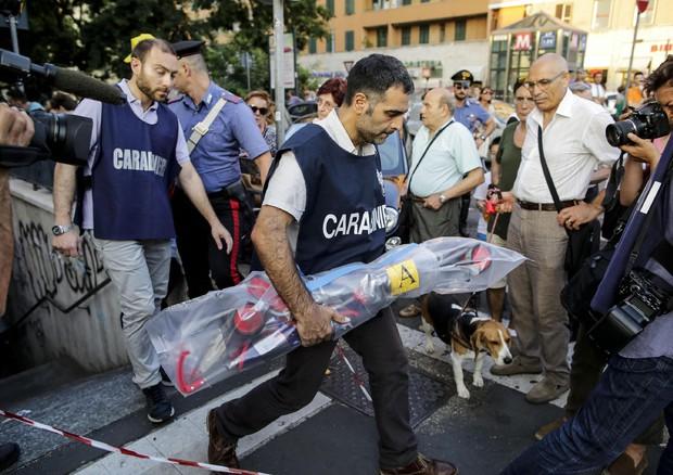 Tragedia a Roma, Carabinieri alla Stazione Furio Colombo Metro A