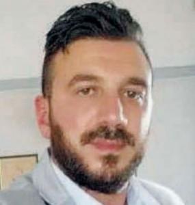 La vittima Ernesto Perri