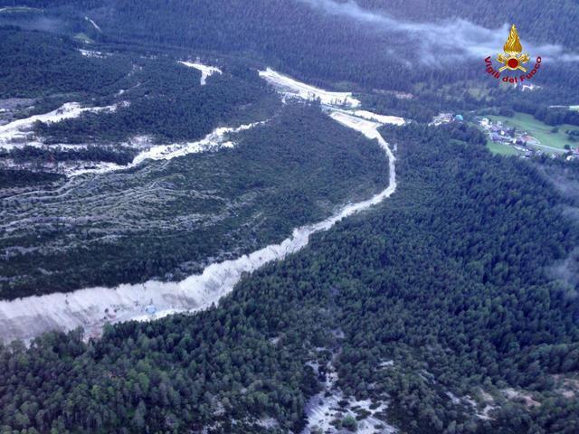 Frana San Vito di Cadore, Alluvione in Veneto