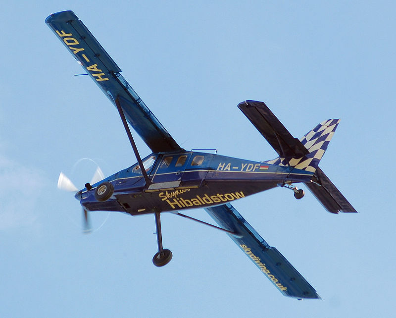 L'aereo SMG-92 Turbo Finist simile a quello precipitato oggi a Casale Monferrato