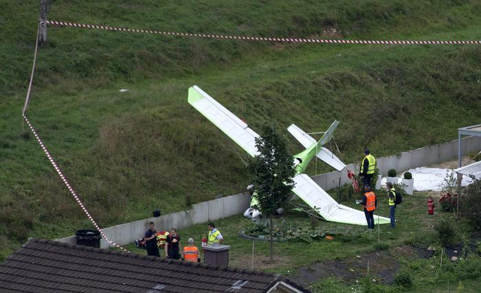 Precipita uno Jet in volo. Un morto in Svizzera