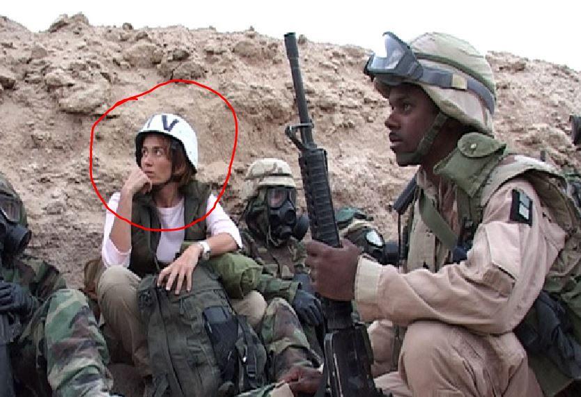 Monica Maggioni sui fronti di guerra