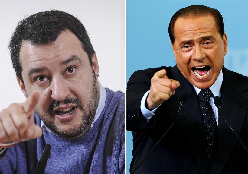 Intesa Salvini e Berlusconi - Patto Salvini e Berlusconi