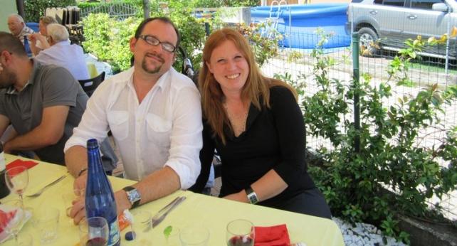 Enrico Scarabello con la moglie Elisa Pirata li investe su cavalcavia san giuseppe a Treviso