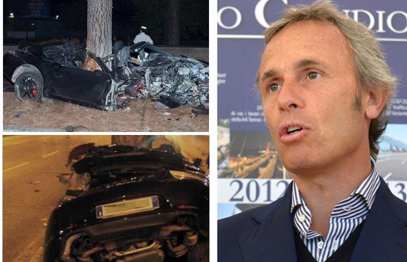 Giallo sulla morte Claudio Salini. La sua Porsche sabotata?