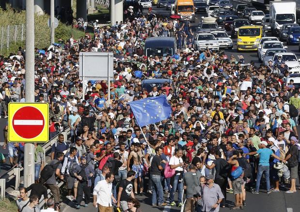 I migranti in marcia