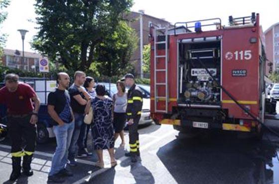 Incidente alla rete gas di Roma