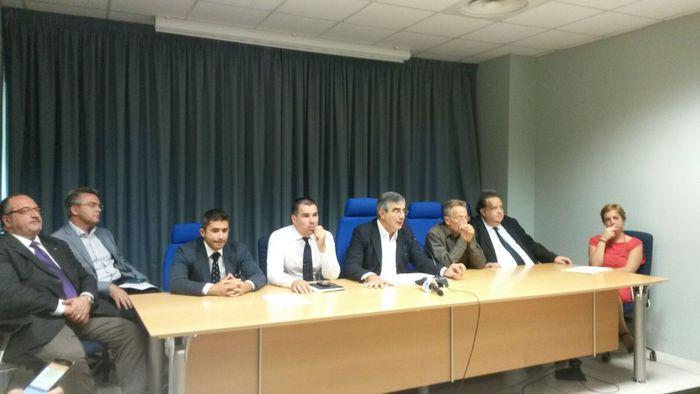 La nuova Giunta regionale dell'Abruzzo targata Luciano D'Alfonso