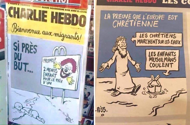 La satira fuori luogo di Charlie Hebdo