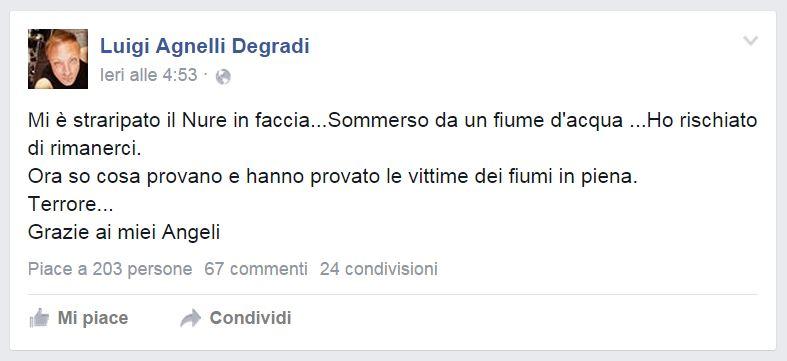 L'ultimo post di Luigi Agnelli Degradi - Gigi Agnelli