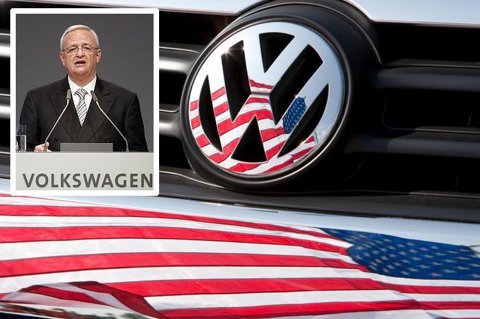 L'ex Ad di Volkswagen, Martin Winterkorn