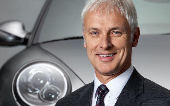 Matthias Müller è il nuovo amministratore delegato della Volkswagen. Arriva da Porsche