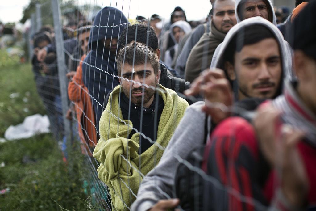 Migranti in rotta verso l'Europa