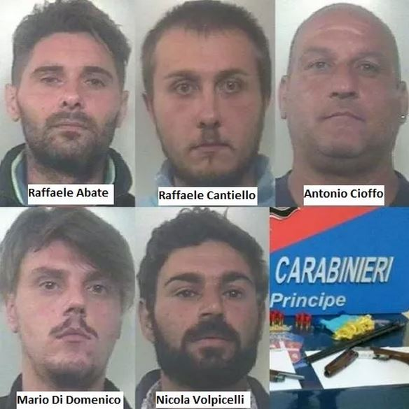 arresti rapine supermercati nel casertano - Caserta