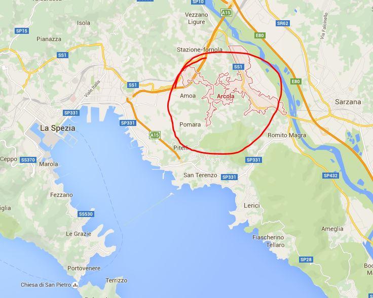 Giallo ad Arcola (La Spezia). Trovato cadavere in un bosco Canarbino