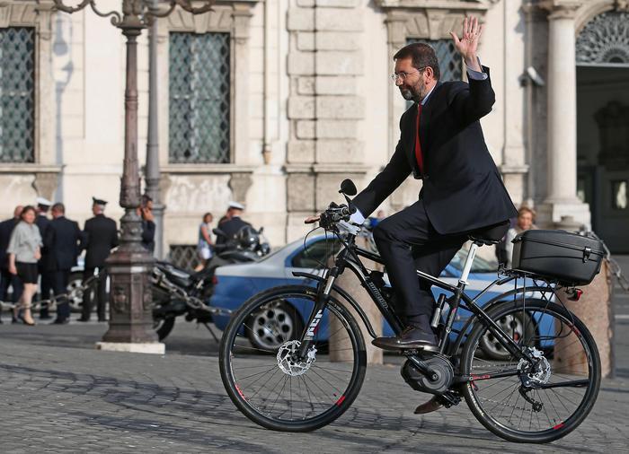 Il sindaco di Roma, Ignazio Marino si è dimesso (foto archivio Ansa/Di Meo)
