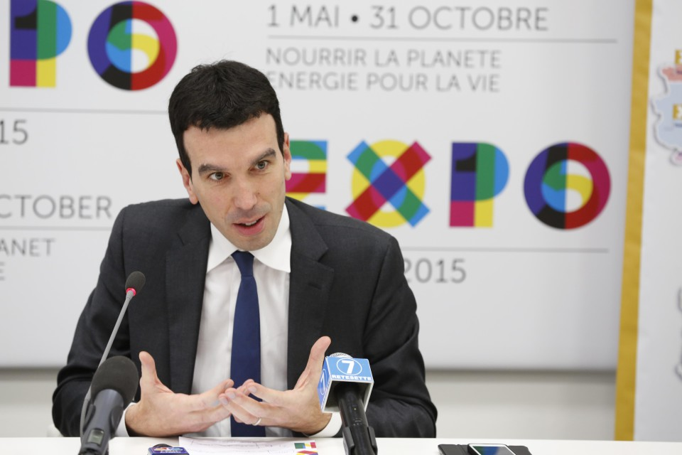 Il ministro dell'Agricoltura Maurizio Martina all'Expo - Cia